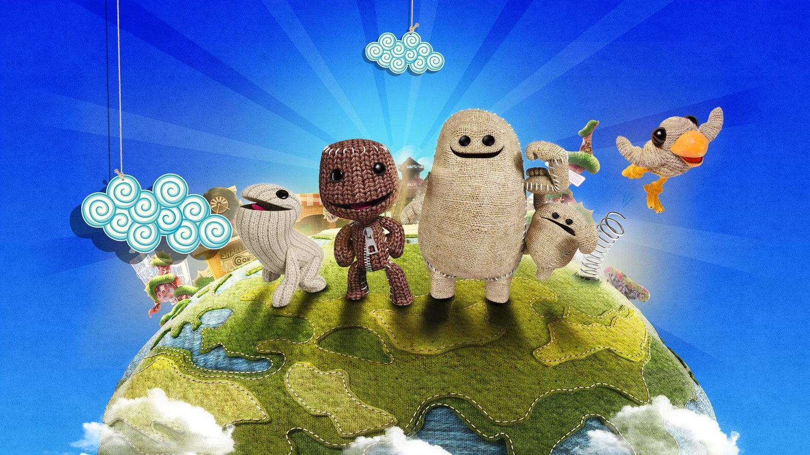 Video Conference Backgrounds - LittleBigPlanet