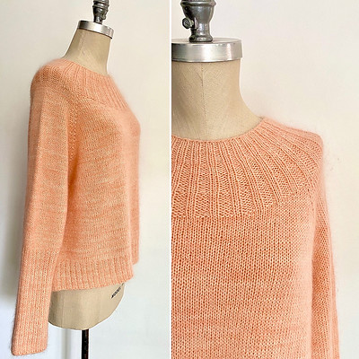 Calliope is the newest design by Espace Tricot! Raglan-style and top down with a modern, boxy silhouette.