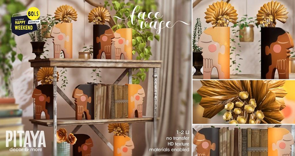 Pitaya – Face Vase