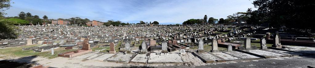 Randwick Cemetery, South Coogee, Sydney, NSW.