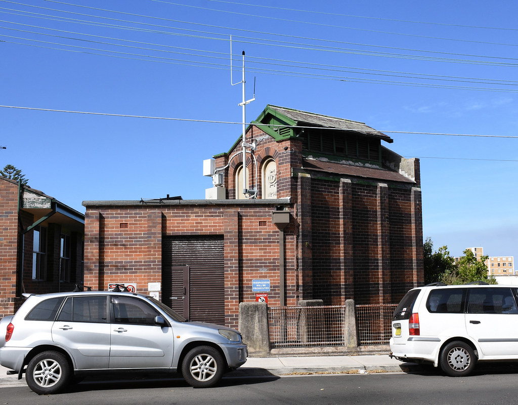 Electricity Substation No 141, Coogee, Sydney, NSW.