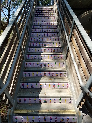 Painted Stairs - UCSD