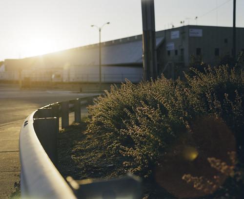 Sunset on Miller Trucking Dock