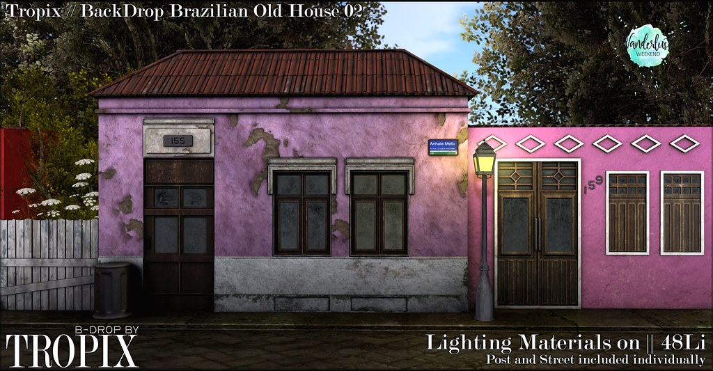 Tropix-Brazilian Old House 02 – Wandelust
