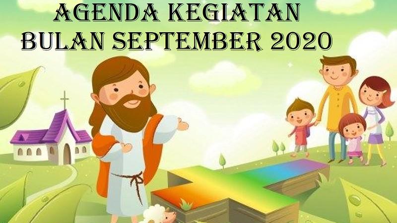 Agenda Kegiatan Bulan September 2020