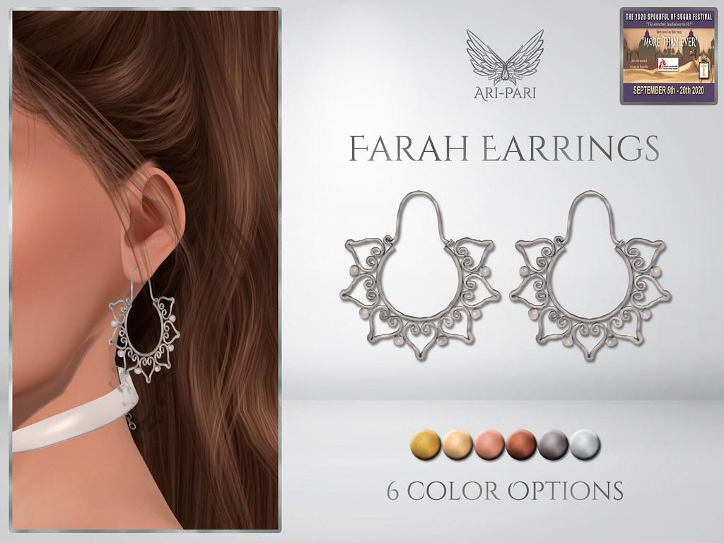 [Ari-Pari] Farah Earrings