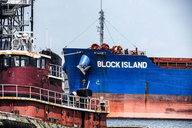 Block Island and Tug