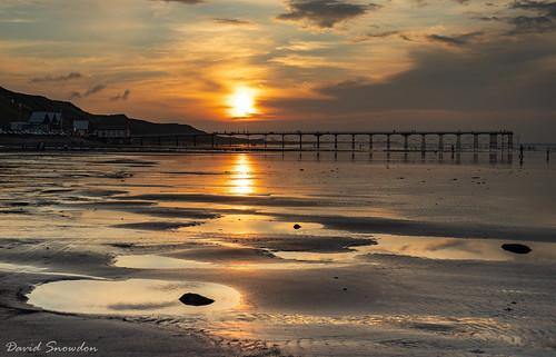 davidsnowdonphotography landscape seaside seashore seafront saltburn saltburnpier northyorkshire pier sunset northeastengland canoneos80d canon
