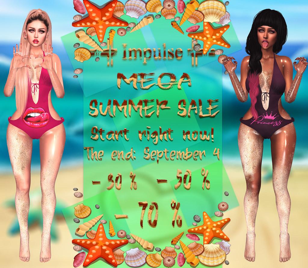 =Impulse= MEGA SUMMER SALE
