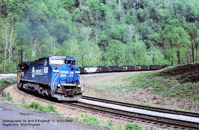 (SEE & HEAR)---NS 8321, 756e, Devon, WV. 4-21-2002