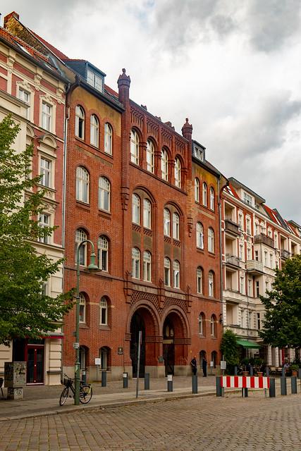 Die Synagoge in der Rykestraße