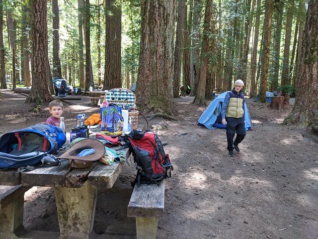 Ohanapecosh Camp Site, F Loop