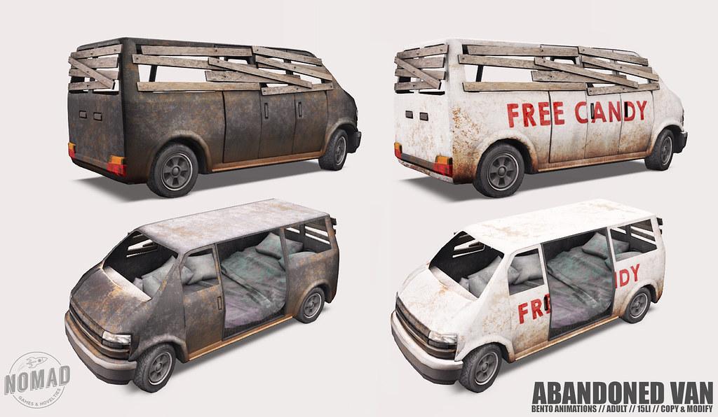 NOMAD – Abandoned Van @ KINKY
