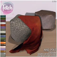 [Fetch] Mia Pouf @ Saturday Sale!