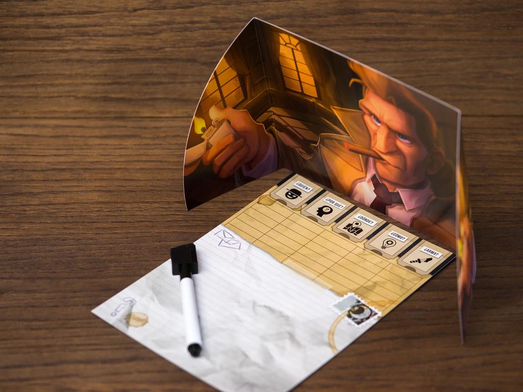 Detectives paranormales boardgame juego