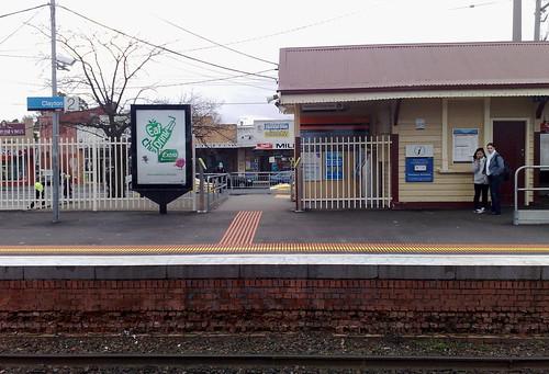 Clayton station, August 2010