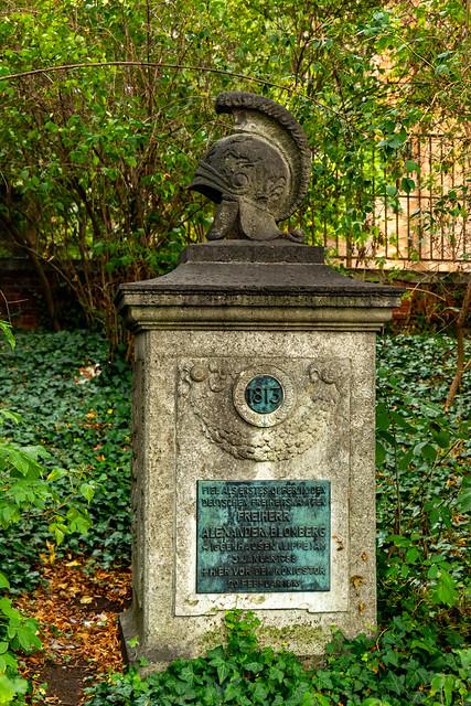 Denkmal für Freiherrn Alexander von Blomberg
