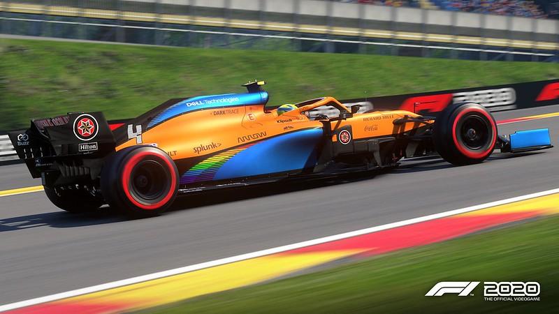 McLaren F1 2020