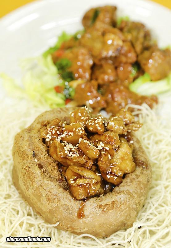 kungfu crab klang yam rice