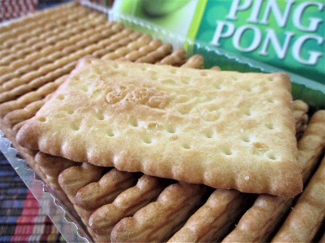 Ping Pong coconut biscuit