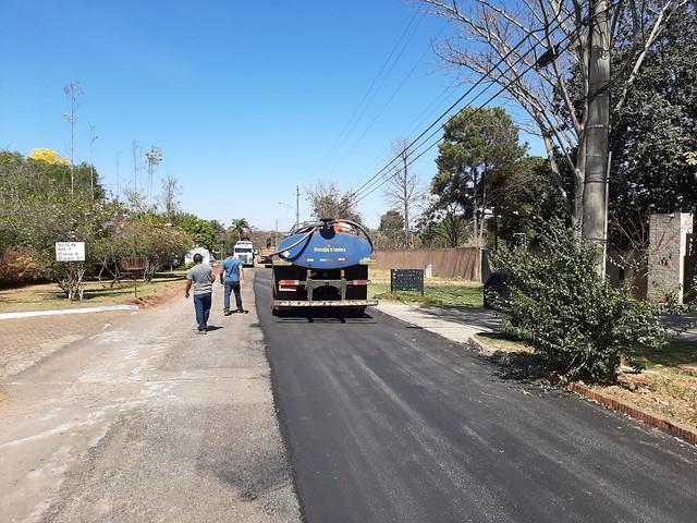 GDF Presente se concentra na manutenção de vias em seis cidades