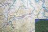 Ausschnitt aus der Landkarte des Kreises Olpe von 1950 (Quelle: Stadtarchiv Olpe)