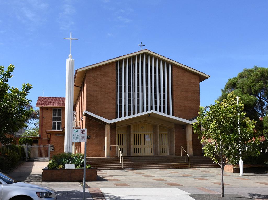 St Agnes Catholic Church, Matraville, Sydney, NSW.