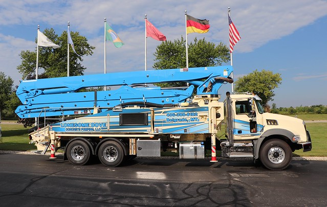 Lonesome Dove Concrete Pumping, LLC Truck