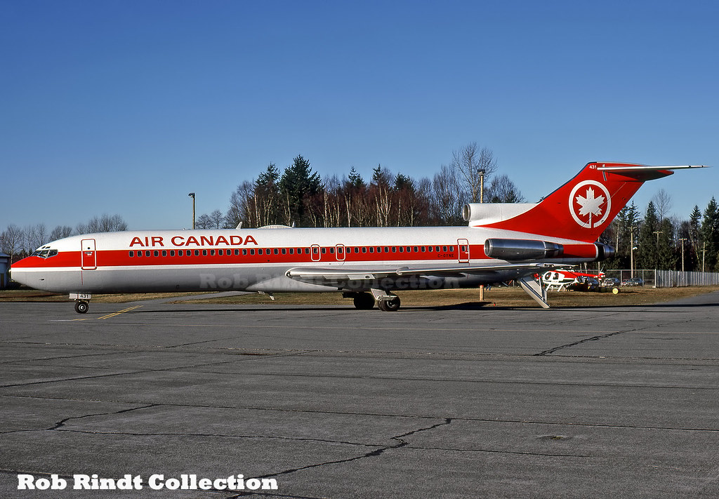 Air Canada B727-233/Advanced C-GYNE