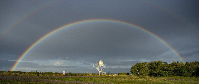 Rainbow Over the Dome -- Complete Bow