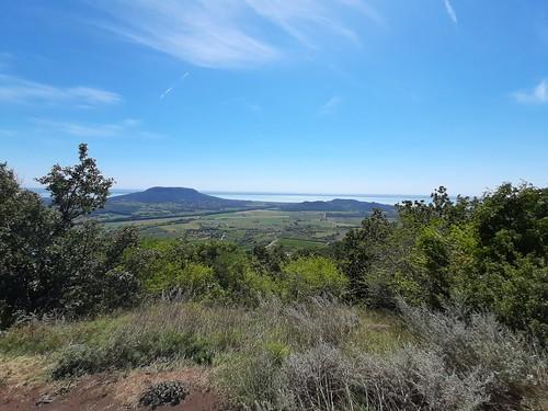 Kilátás a Szent György hegy tetejéről