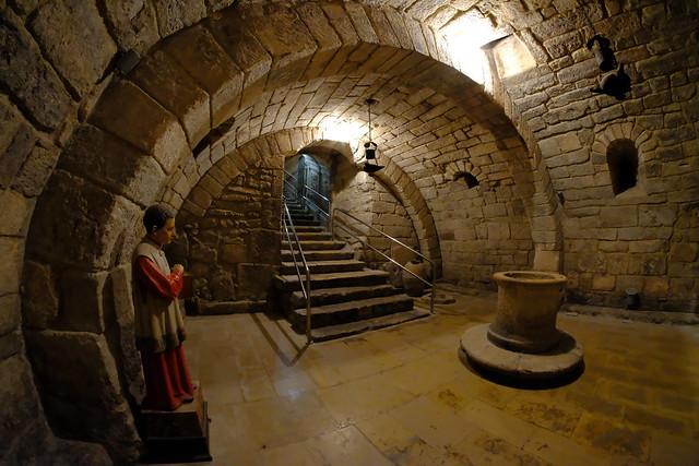 XE3F9116 - Cripta de San Antolín, Catedral de Palencia (Crypt of San Antolín, Cathedral of Palencia)