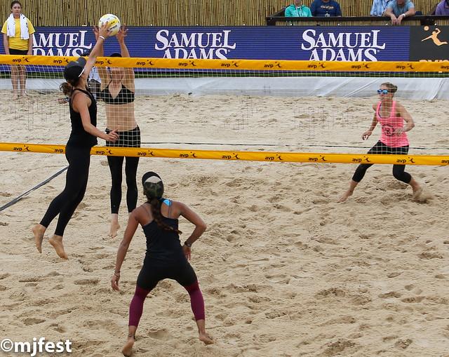 CQE#2 Beach volleyball tournament @ Montreal, Boucherville