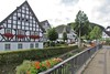Kirchveischede, Dorfmittelpunkt mit Veischede (Quelle: Archiv Walter Stupperich)