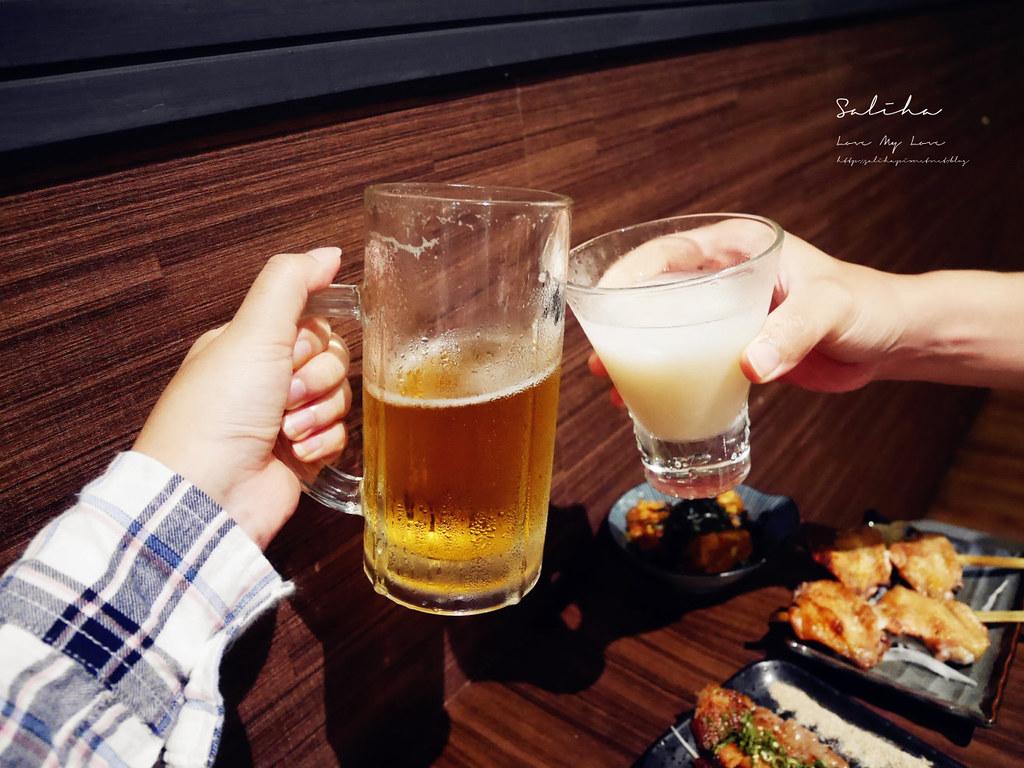 新北板橋運動餐廳酒吧小酌聚餐禾野坊日式居酒屋串燒日本料理生魚片好吃 (2)