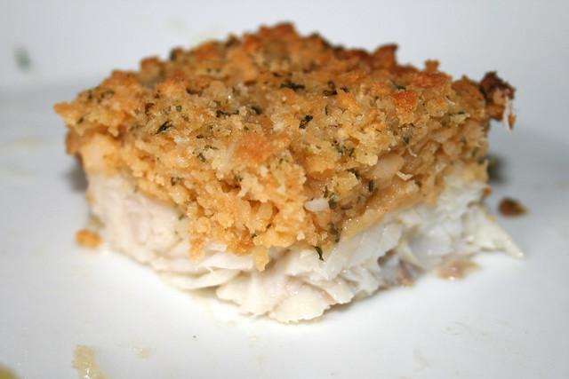 15 - Gourmet fillet á la Bordelaise with potatoes & pan vegs - CloseUp / Schlemmerfilet á la Bordelaise mit Salzkartoffeln & Pfannengemüse  - Nahaufnahme
