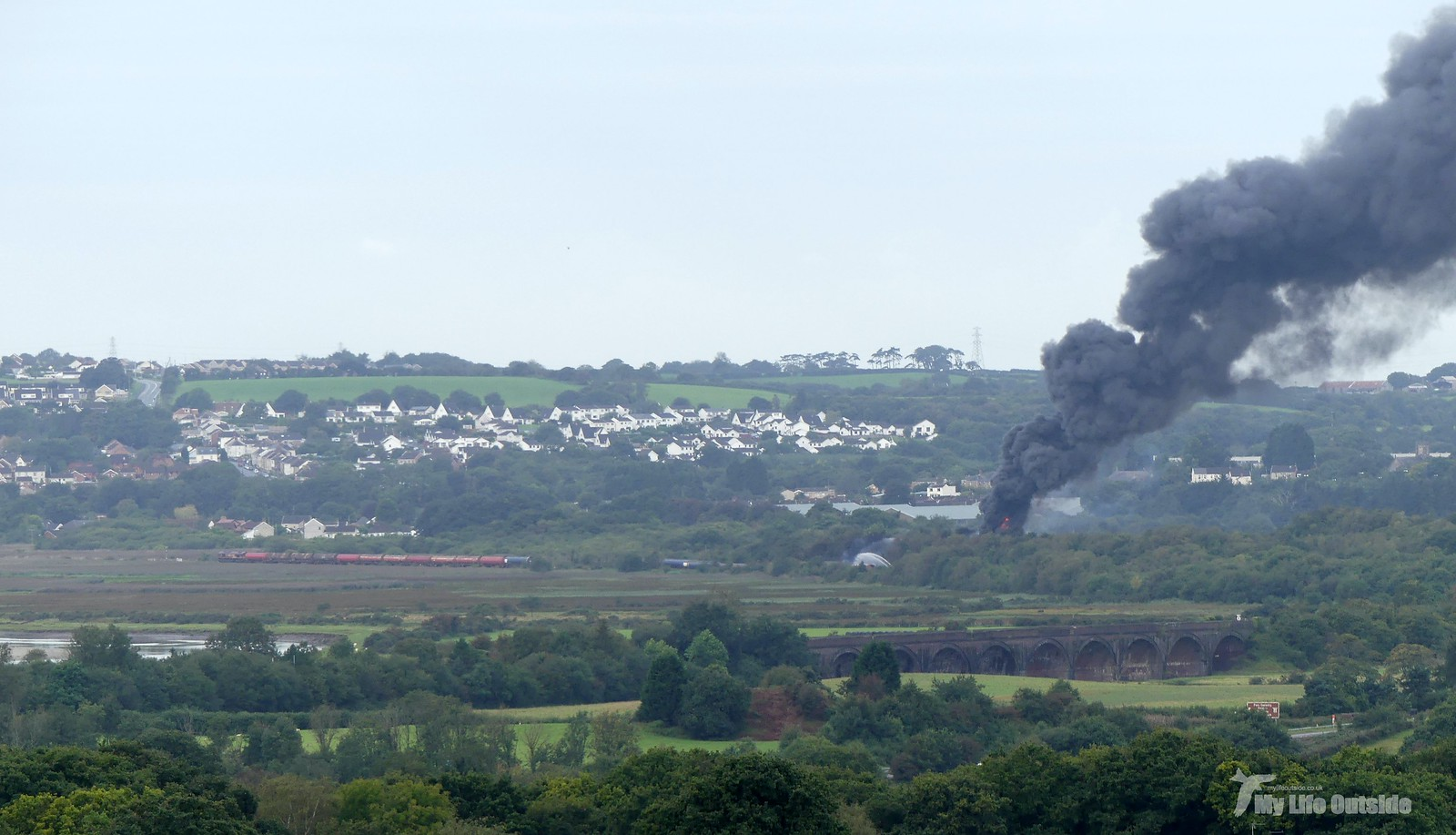 P1240891Llangennech train derailment and fire
