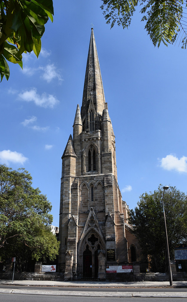 Hunter Baillie Memorial Presbyterian Church, Annandale, Sydney, NSW.