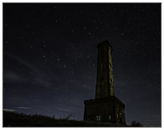 Peel Monument at Night - Explore No.54 - 29.08.2020