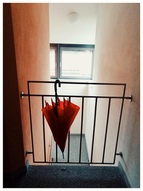 .the red umbrella