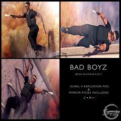 Bad Boyz Pose Set @ Manly Weekend Sale