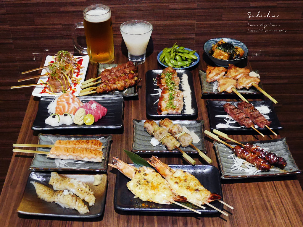 新北板橋好吃美食餐廳推薦禾野坊小酌串燒百元平價日本料理 (1)