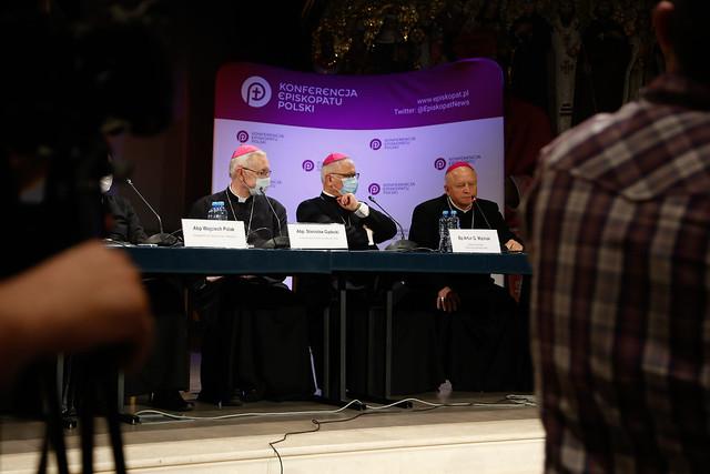 386. Zebranie Plenarne KEP - Konferencja Prasowa - Jasna Góra, 29 VIII 2020