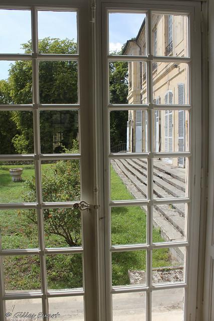 Terrasse du pavillon d'Enville - Chateau de La Roche Guyon (95)