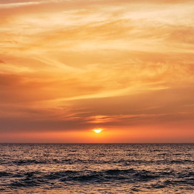 Orange ocean 2