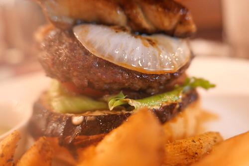 Lamb Rossini Burger
