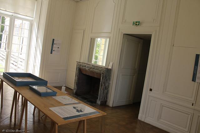 Le boudoir - Chateau de La Roche Guyon (95)