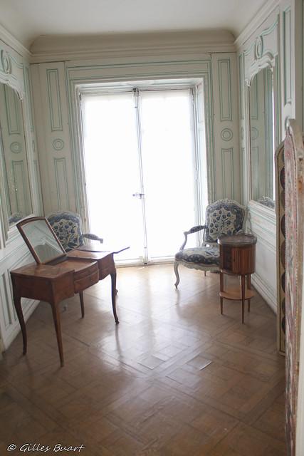 Le second boudoir - Chateau de La Roche Guyon (95)