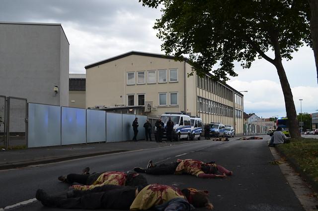 Rheinmetall entwaffnen Aktionstag in Kassel 28.8.2020