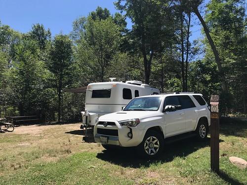Killbear - the corner campsite